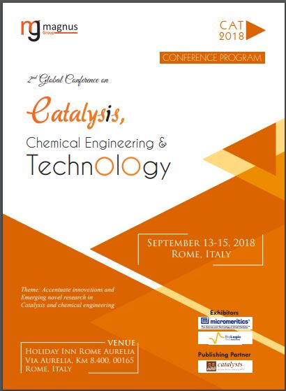 2nd Edition of Global Conference on Catalysis, Chemical Engineering and Technology Program