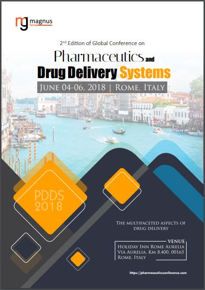 2nd Edition of Global Conference on Pharmaceutics and Drug Delivery Systems Book