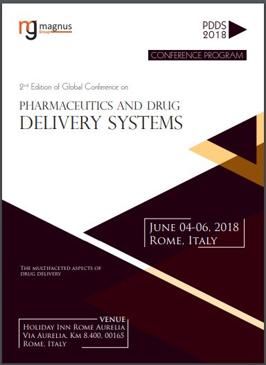 2nd Edition of Global Conference on Pharmaceutics and Drug Delivery Systems Program